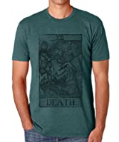 Mens Vintage Style Death Tarot Card T-Shirt