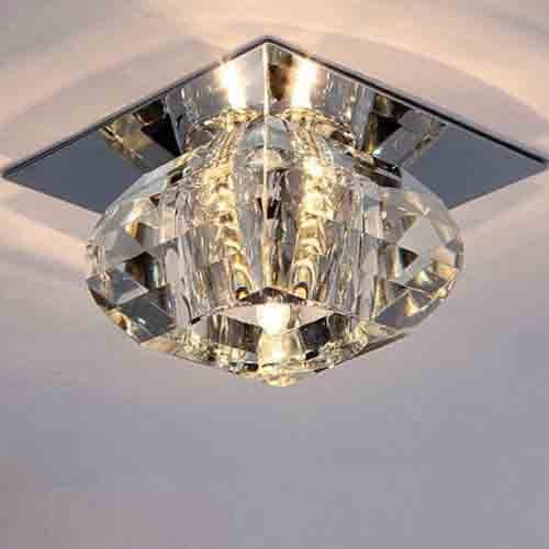 Nilight Modern Crystal Led Ceiling Light Pendant Lamp Fixture Lighting Chandelier