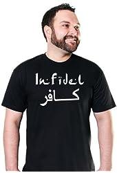 Infidel T-shirt Funny Military Army TEE Usmc Sniper Rifle Marine Major League In