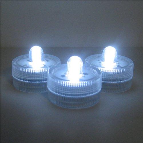 Submersible Battery LED Lights~WHITE~wedding~tea Light
