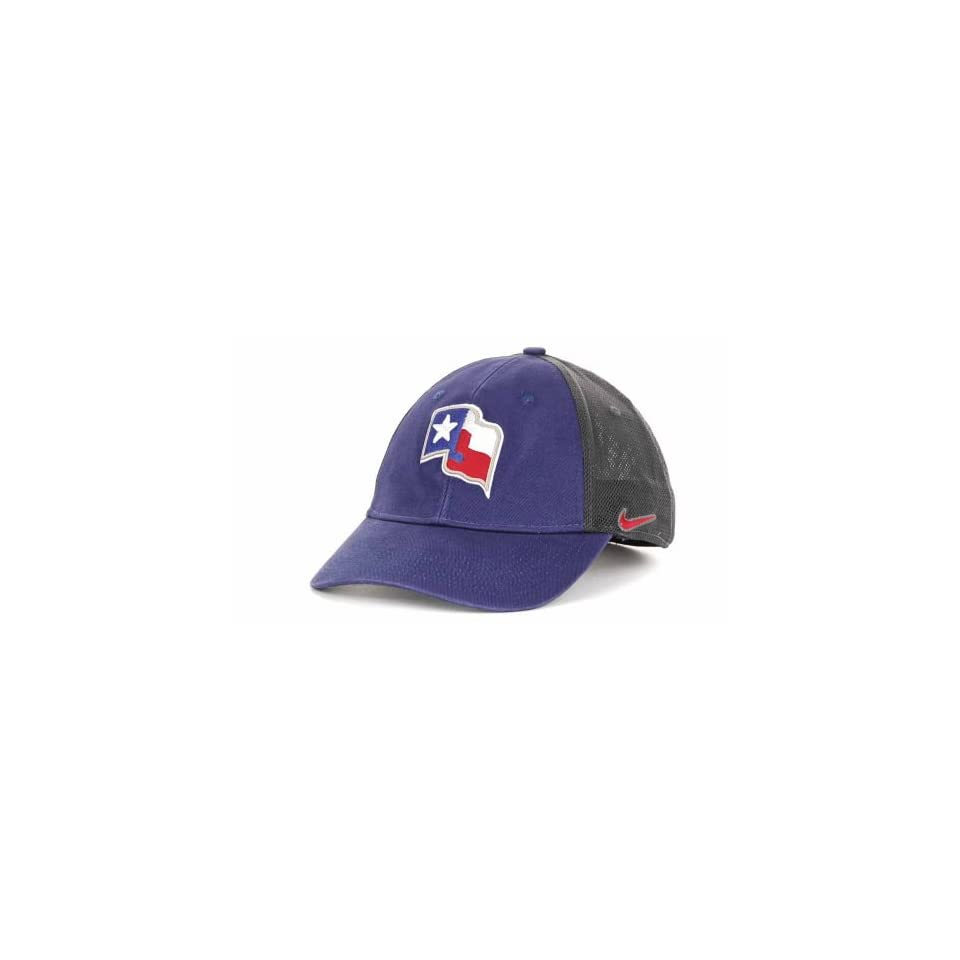 eaef1afdc65 Texas Rangers Nike Flex Fit One Size Hat   Cap MLB Authentic 7 or 7 ...