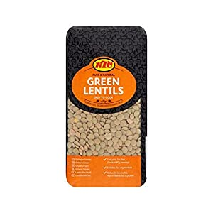 KTC Green Lentils 500g - Pack of 2
