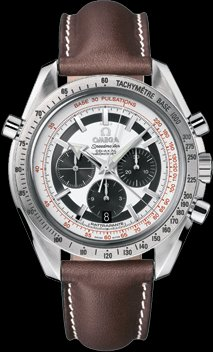 OMEGA Speedmaster Broad Arrow Silver Dial Co-Axial automatic winding back cover skeleton 3882.31.37 Men's watches (Omega Skeleton compare prices)