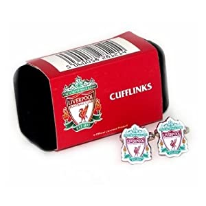 Liverpool Fc Official Football Cufflinks by Liverpool FC