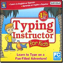 New Individual Software Typing Instructor For Kids 4.5 11 Action-Packed Games Teach Keyboard Skills