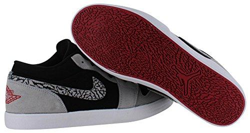 f0365eea6de pictures of Jordan Air Nike Men's AJ V2 Low Basketball Court Shoes Black  Size 8