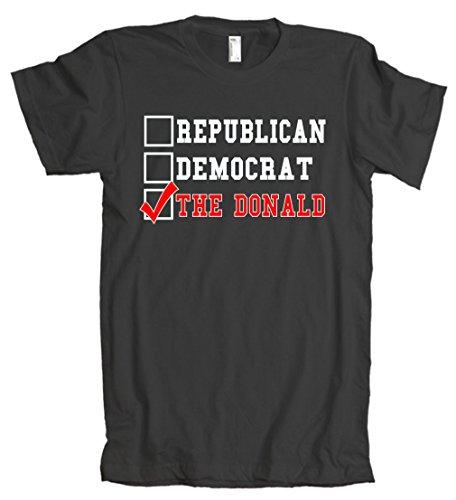 American Apparel: Republican Democrat Donald Trump T-Shirt