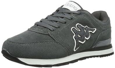 Kappa LOUIS LEATHER Footwear unisex, Leather, Unisex-Erwachsene Sneakers, Mehrfarbig (1610 GREY/WHITE), 43 EU (9 Erwachsene UK)