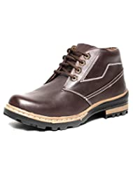 DK Derby Kohinoor Sturdy Brown Ankle Length Boots