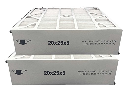 Atomic 259112-102 Trion Air Bear MERV 13 Compatible Replacement Filter - 20x25x5 - 2 Pack