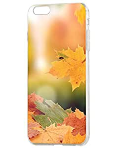 iPhone Case, OOFIT iPhone 6 Hard Case for Apple iPhone 6/6S ( 2015) 4.7 inch with Autumn Yellow Leaves