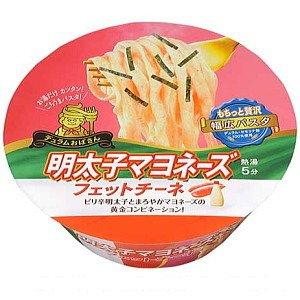 サンヨー食品 デュラムおばさん 明太子マヨネーズ フィットチーネ 108g×12個