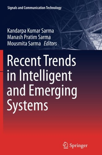 Recent Trends in Intelligent and Emerging Systems (Signals and Communication Technology (Hardcover))