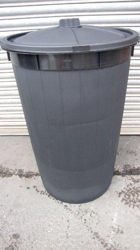 210 litre dustbin /refuse bin / bin /locking feature lid (green)(made in uk)