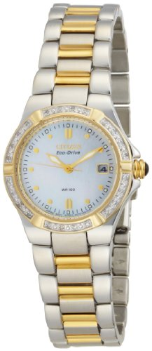 Citizen Women's Eco-Drive Riva Diamond Accented Watch #EW0894-57D