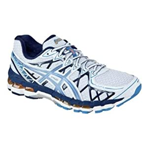 Asics - Mens Gel-Kayano 20 Running Shoes, Size: 15 D(M) US Mens, Color: White/Galaxy/Midnight