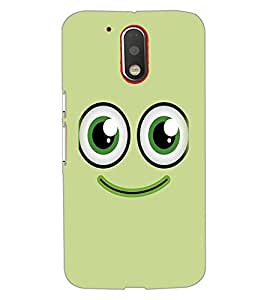 PRINTSWAG SMILEY Designer Back Cover Case for MOTOROLA MOTO G4