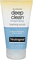 Neutrogena Deep Clean Invigorating Foaming Scrub 4.2 Ounce (Pack of 3)