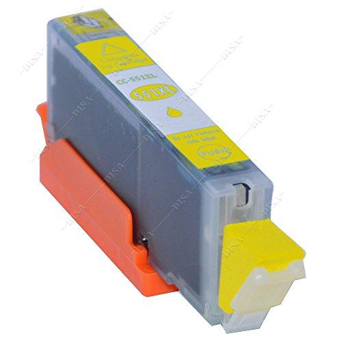 1 x Tintenpatrone mit Chip kompatibel zu CLI-551Y Yellow Canon Pixma MX-Serie MX720 Series / MX725 / MX920 Series / MX925