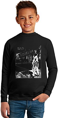 Bad Religion Superb Quality Boys Sweater by TRUE FANS APPAREL - 50% Cotton & 50% Polyester- Set-In Sleeves- Open End Yarn- Unisex for Boys and Girls 6-7 years