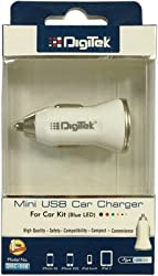 Digitek USB Car Charger 1A DMC-008 (Color May Vary)