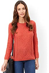 Monsoon Womens Claudia cable jumper