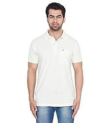 Gio Men's Cotton T-Shirt (AMZ_AMP_198_White_X-Large)