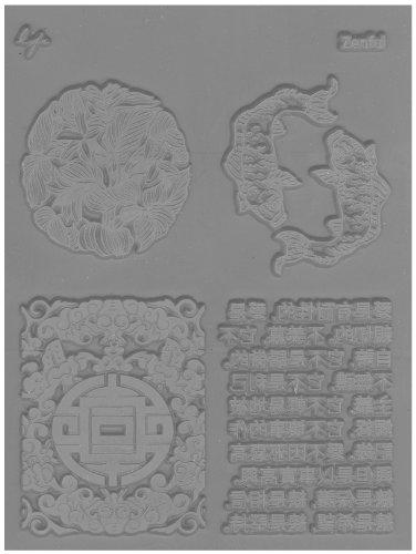 Lisa Pavelka 527235 Texture Stamp Zenful