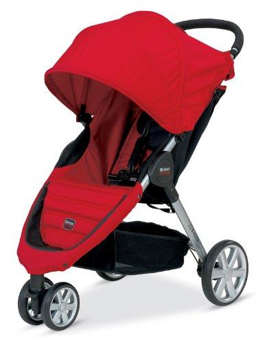 Britax B-Agile Stroller, Red