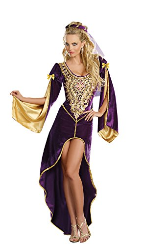 Dreamgirl Women's Sexy Royal, Medieval Costume, Queen Of Thrones