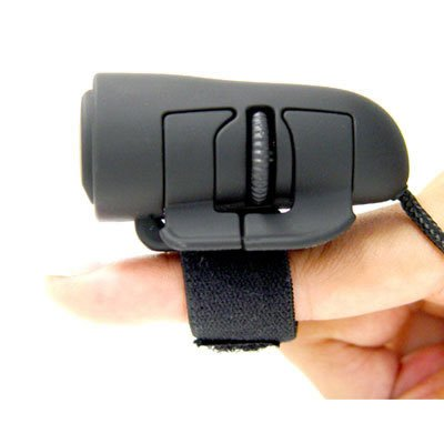 2-button Ergonomic USB 800dpi Optical Finger Mouse (Mouse Alternative compare prices)