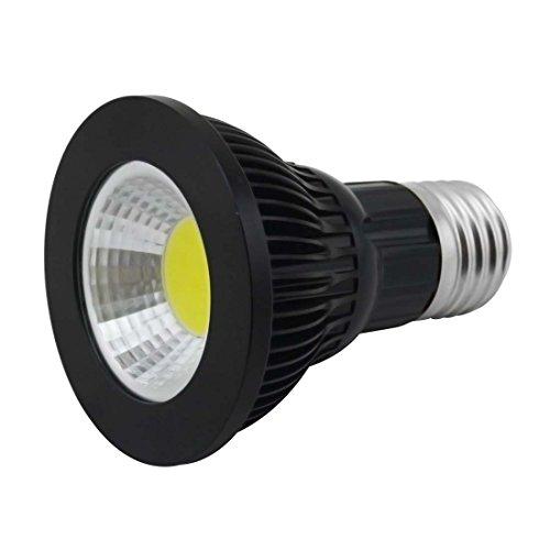 Grexistar Par20 9W E27 Cob Led Spot Light Transparent Cover Cool White Black Case