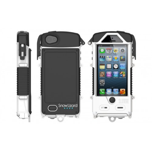Great Features Of SnowLizard SLXtreme Case for iPhone 5, White