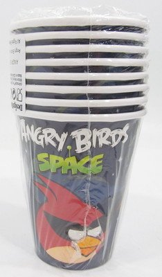 Angry Birds 'Space' Small Paper Cups (8ct)