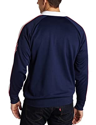 MLB Boston Red Sox Profector Mock Neck Full Zip Raglan Jacket