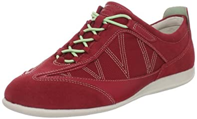 (史低)ECCO Women's Glow Elastic Sneaker爱步真皮织物舒缓时尚休闲鞋 月岩 $71.31