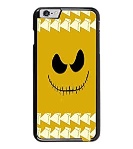 PrintDhaba Scary Smily D-3878 Back Case Cover for APPLE IPHONE 6 PLUS (Multi-Coloured)