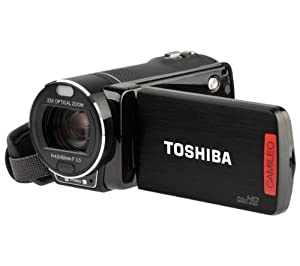 CAMILEO-X400BK 1080p HD Camcorder with 23x Optical Zoom in Black