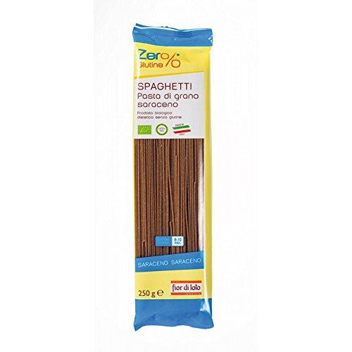 Fior Di Loto Zero Glutine Spaghetti Di Grano Saraceno Biologico 250g