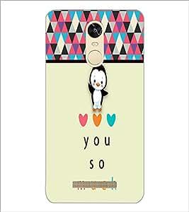 PrintDhaba Love D-2696 Back Case Cover for XIAOMI REDMI NOTE 3 PRO (Multi-Coloured)