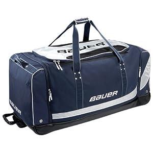 Bauer Wheelbag Sac de hockey à roulettes Taille L L Noir - Noir
