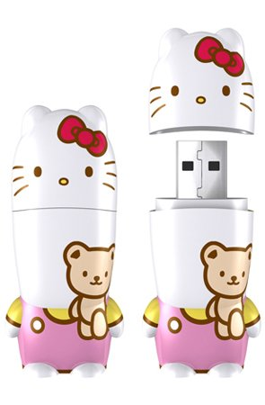 Mimobot Hello Kitty Teddy Bear USB Flash Drive