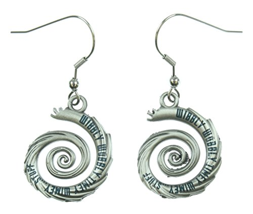 Doctor Who Wibbly Wobbly Timey Wimey Dangle Earrings (Doctor Who Dalek Merchandise compare prices)