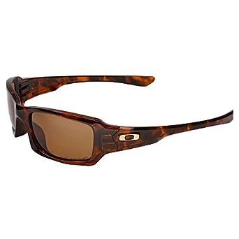 Oakley 12-968 Fives Squared Sunglasses-Brown Tortoise (Bronze Polarized Lens)