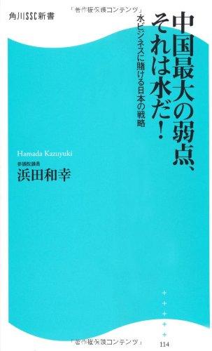 中国最大の弱点、それは水だ! 角川SSC新書 水ビジネスに賭ける日本の戦略 (角川SSC新書)