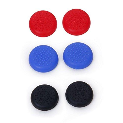 Winomo 3 paires de remplacement Joystick joystick bouton Caps pour PlayStation 4 PS4 contrôleur