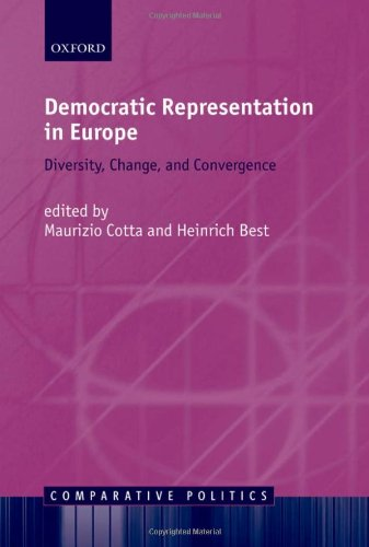 Democratic Representation in Europe: Diversity, Change, and Convergence (Comparative Politics)