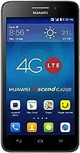Huawei Ascend G620S Smartphone débloqué 4G (Ecran : 5 pouces HD - 8 Go - Simple SIM - Android 4.4 KitKat) Noir