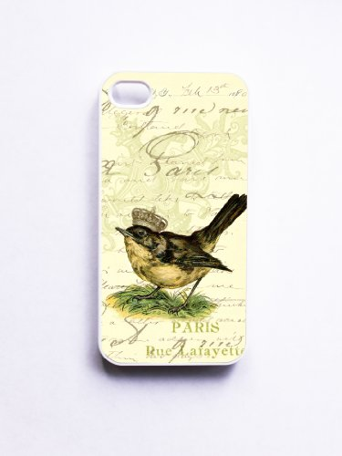 iPhone 4/4S Case Vintage Mixed Media Ephemera