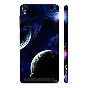 Enthopia Designer Hardshell Case To the Moon and Back Back Cover for Intex Aqua Power Plus
